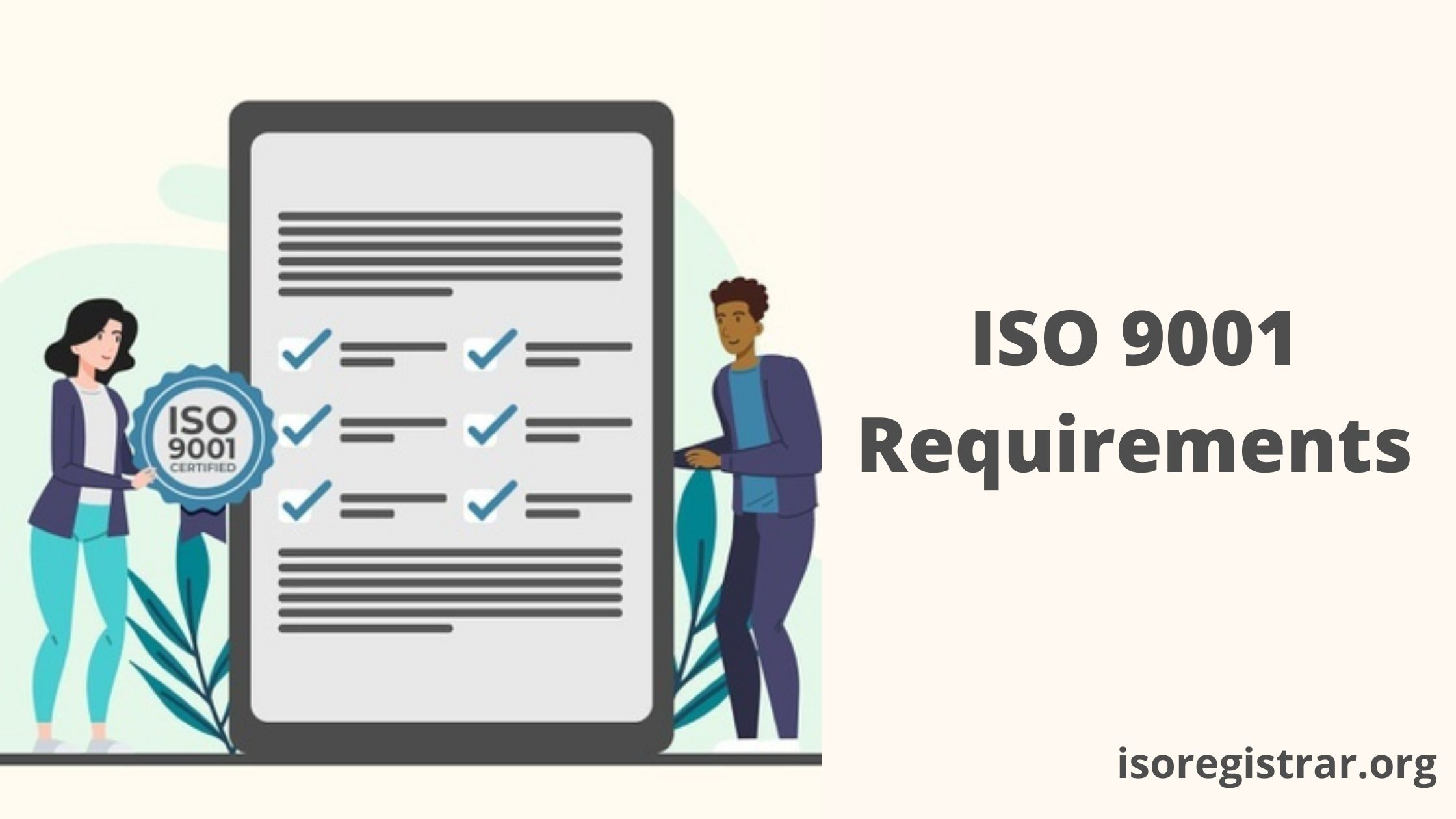 ISO 9001 Requirements - Quality Management System