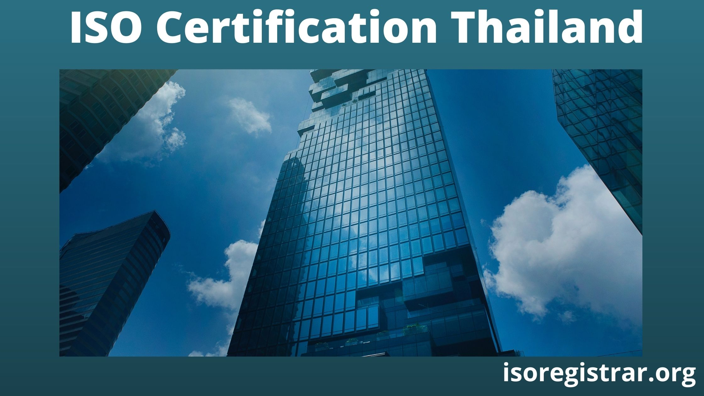 ISO Certification Thailand